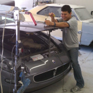 Maserati Paintless Dent Removal